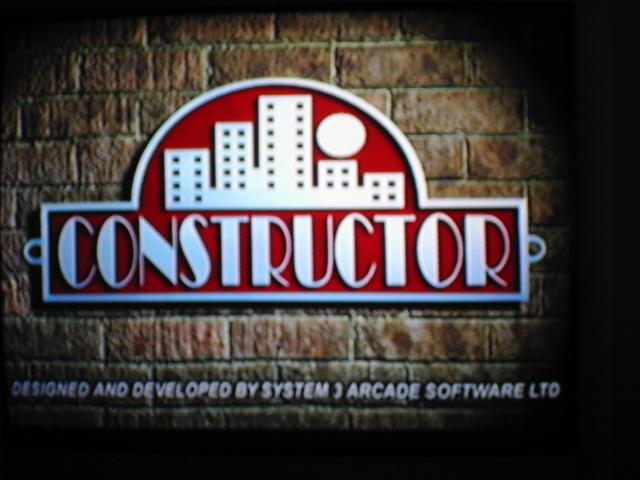 une photo d'écran de Constructor sur Sony Playstation